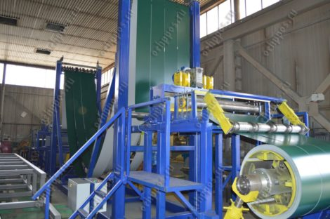 Линия продольной резки металла 0,3-0,8 мм (БЕЗ ПЕТЛЕВОЙ ЯМЫ)