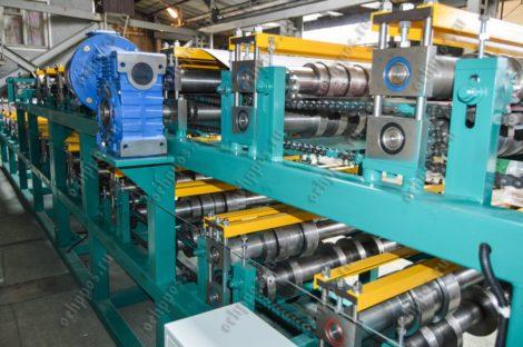 Двухэтажная линия для производства металлочерепицы Монтеррей-Липецк и профнастила С20
